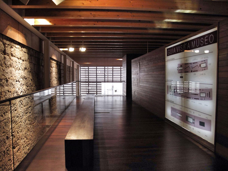 reharq_museo provincial del vino_peñafiel_arquitectura_planta segunda