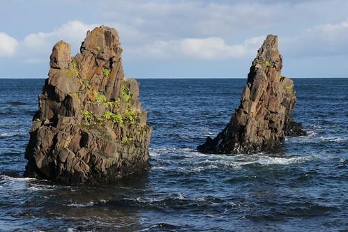 autumn iceland rocks westfjords
