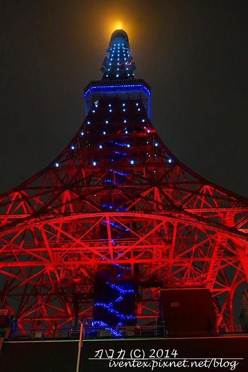 10刀口力日本東京鐵塔