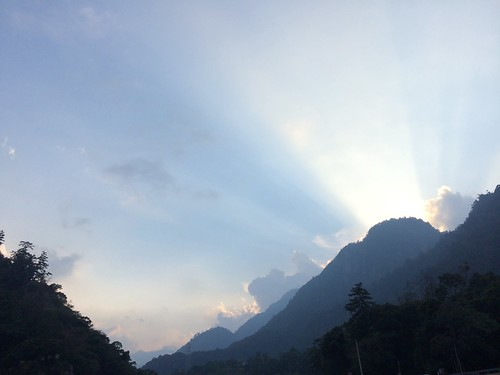 sunset 東西橫貫公路谷關風景特定區