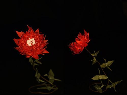 Origami Crane Flower (Kazuo Kobayashi)