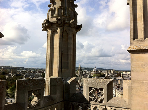 Oxford, from Magdalen Tower.