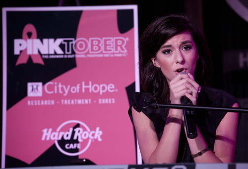 Pinktober at Hard Rock Cafe Hollywood Blvd