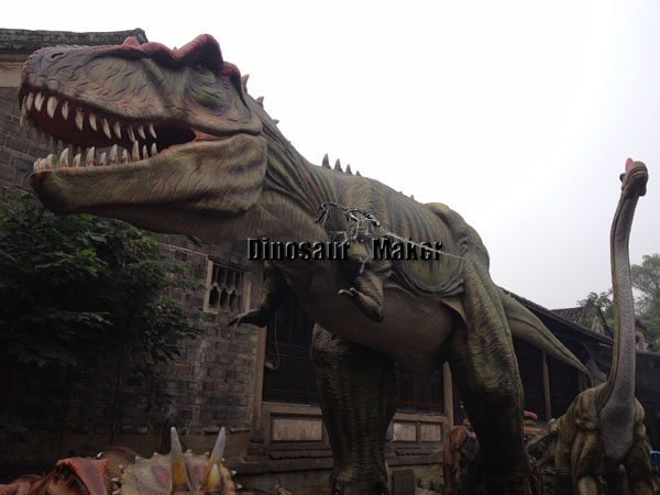 T-Rex Model in Factory