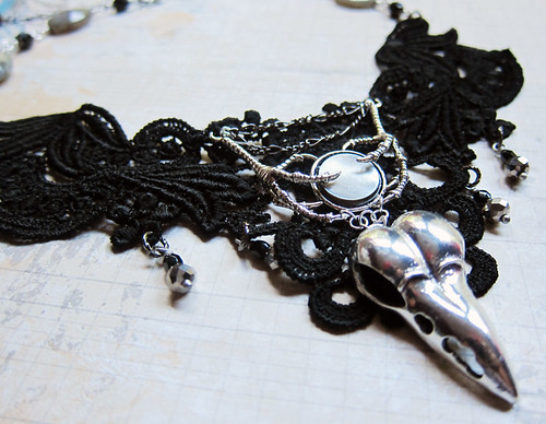 Nevermore Lace Collar Choker