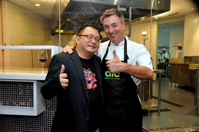 Chef Tareq Taylor and Sidney Kan