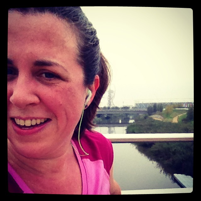 Just ran my fastest 5k ever (27:36). Channeling my inner Jo Pavey. Yeehah! #running #pb #qeop
