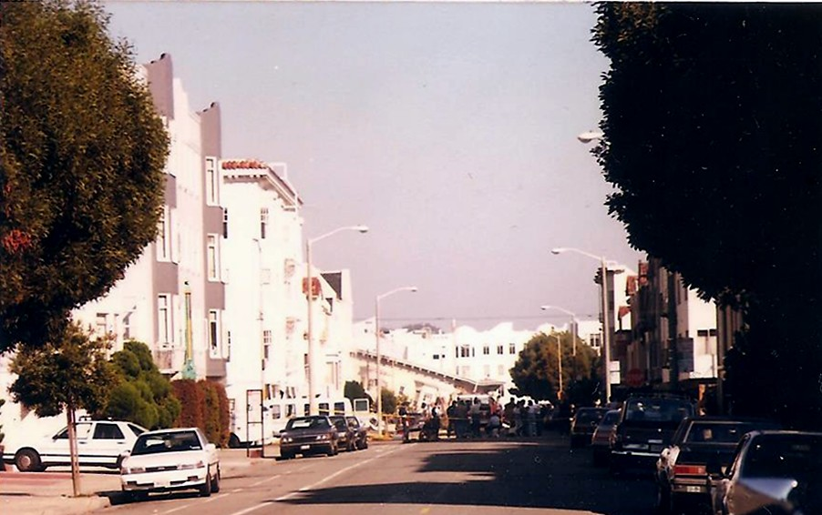 1989 Earthquake Collapsed Apartment Building The Marina Flickr