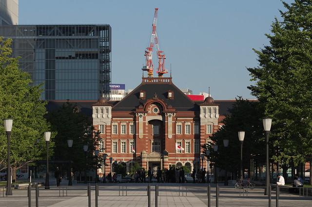 Tokyo Train Story 東京駅 2014年10月17日