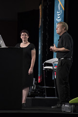 Andrea Keay and Jim Weaver, JavaOne Community Keynote, JavaOne 2014 San Francisco