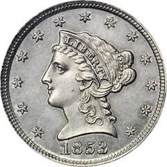 1853 Pattern Cent. Judd-149 obverse