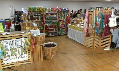 Just spending the day at Autumn Fiber Festival. #transientvendor #woolmerchant #booth #Ashland #Ohio