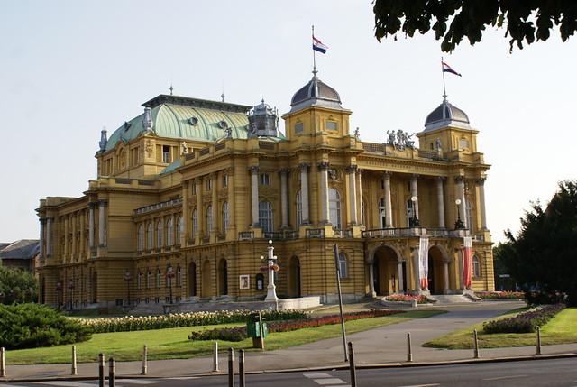 Zagreb - Teatro Nacional