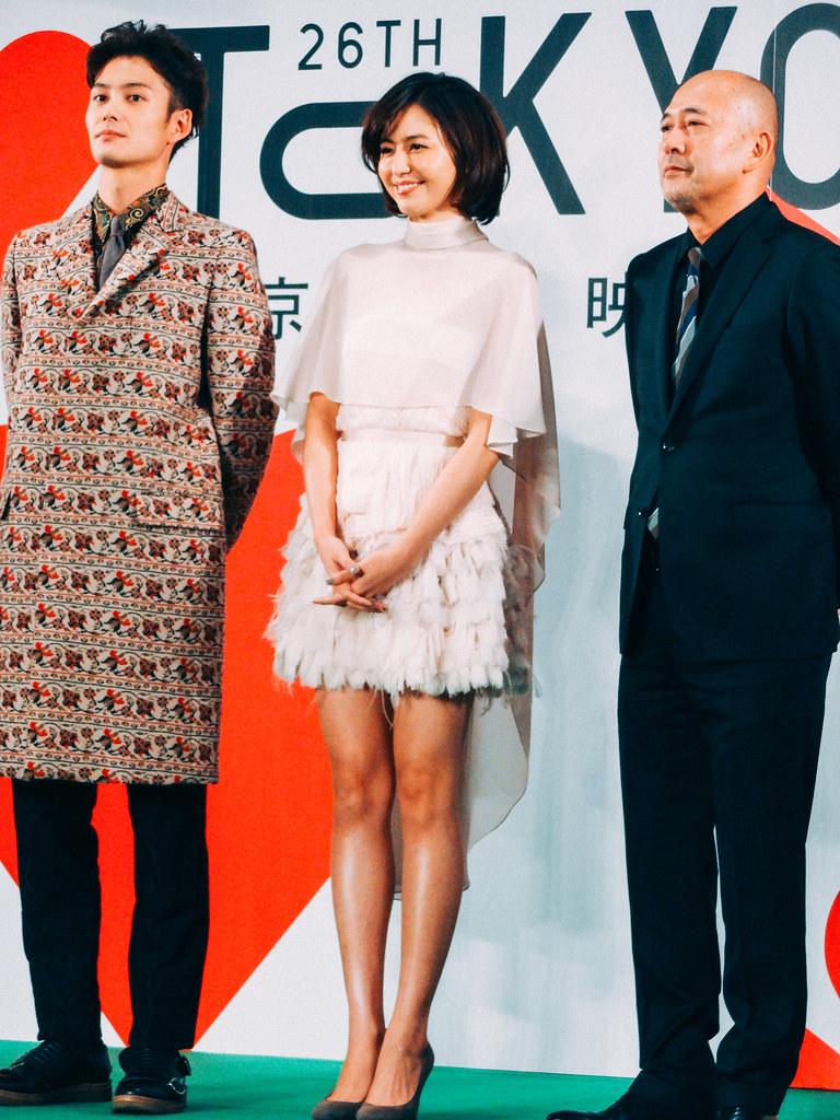 26th Tokyo International Film Festival: Nagasawa Masami, Okada Masaki & Shinjo Takehiko from Beyond the Memories