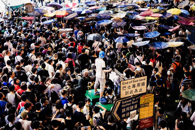 Umbrella Revolution -Hong Kong
