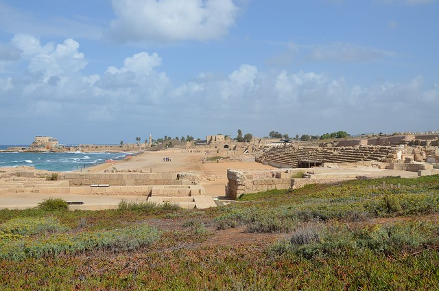 Herod the Great's palace and circus, Caesarea, Israel