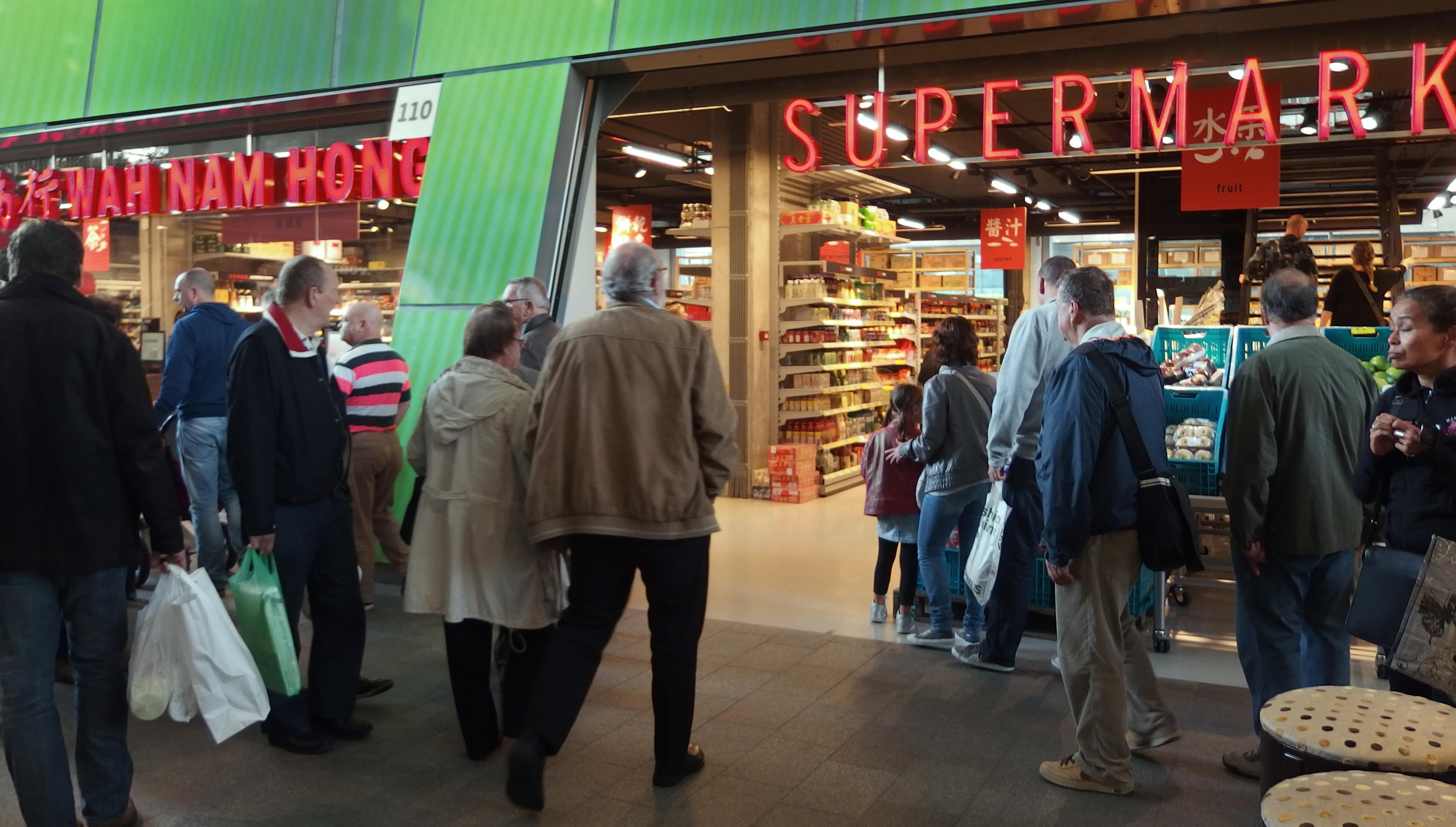 Servies Winkel Rotterdam.Toko In De Markthal Rotterdam Wah Nam Hong Aziatische