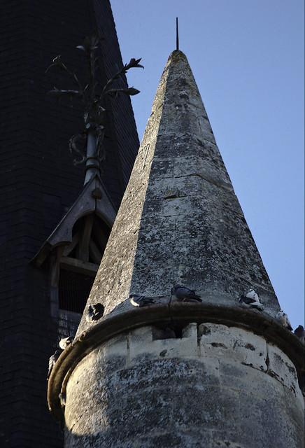 Türmchen auf der Kirche Saint-André