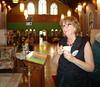 Anne Marie Mohler RN, DHA is the Parish Nurse at Health and Wellness Fair