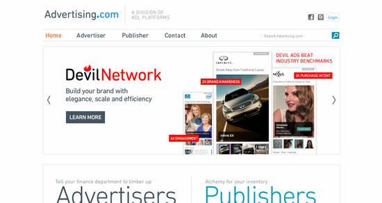 Advertising.com CPM Ad Network