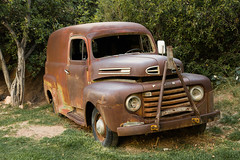 1949 Ford F1 Panel Truck