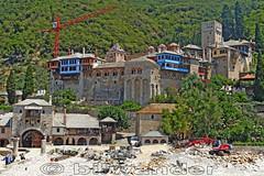 Macedonia, Greek orthodox Byzantine Dochiariou monastery (10th century), Athos Chalkidiki #Μacedonia