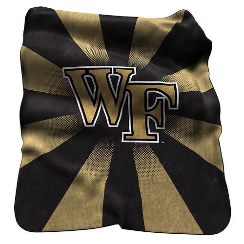 Wake Forest Demon Deacons NCAA Raschel Blanket