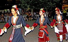Macedonia, Florina, Sitaria village, dance group of pan-Macedonian Youth of Boston Macedonia, Greece #Μacedonia Greek diaspora 2nd - 3rd generations, at pan-macedonian gathering