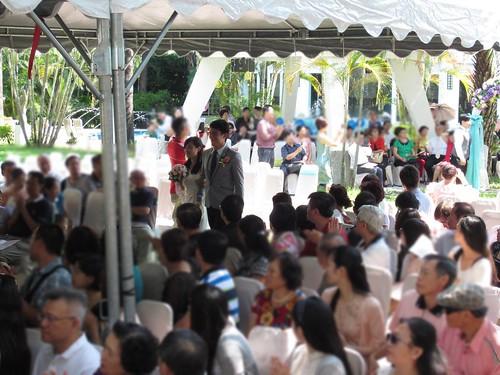 台南商務會館-基督教戶外證婚儀式 (10)