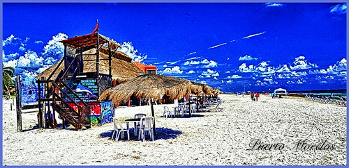 Beach time in HDR