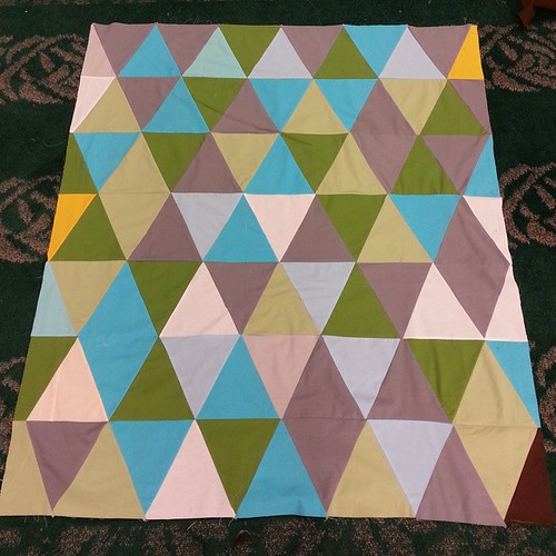 Quilt tops not done till it's instagrammed. #ohcraftsewin #ohcraft