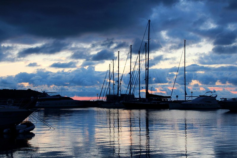 Sunset in Izola