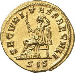 130r PROBUS, 276-282. Aureus, Siscia