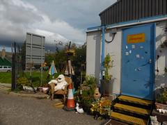 Recycling depot, Alford, Aberdeenshire