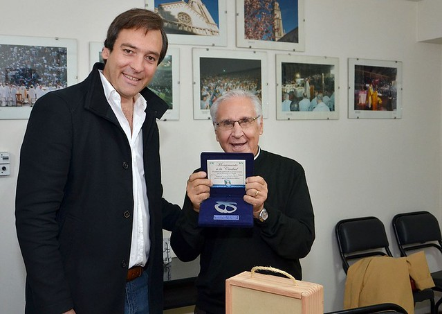 Roca | Visita del padre Darío Betancourt