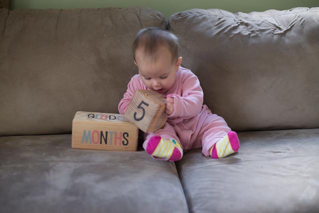 Emma 5 months-6