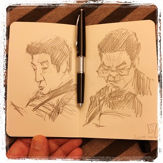 #japon #metro #portraits #pentel #kerry