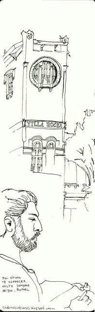 Gloomy house in Santa Teresa