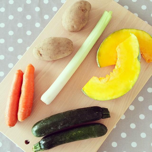 Per me ormai esistono solo le verdure per il brodo vegetale di Niccolò 😅
