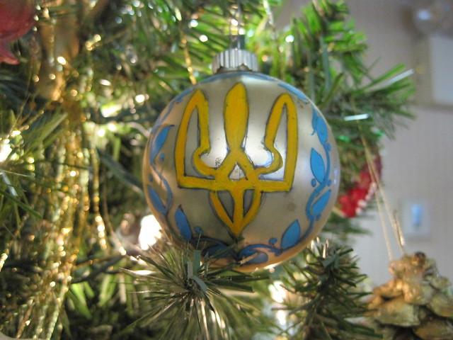 Ukrainian christmas tree decorations flickr photo