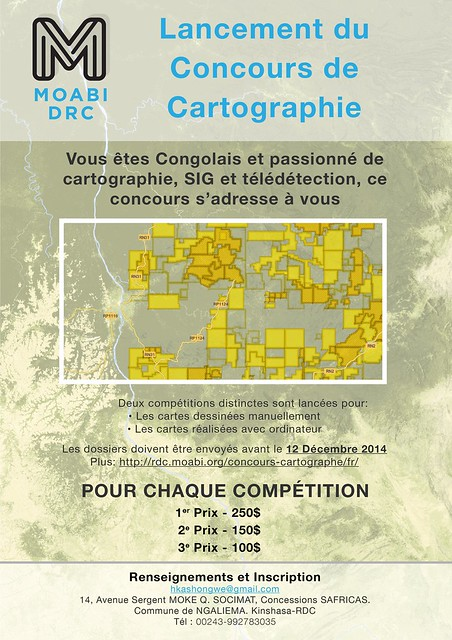 Map Competition Poster