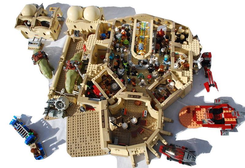 MOC Eisley Cantina UCS - LEGO Star Wars - Eurobricks Forums
