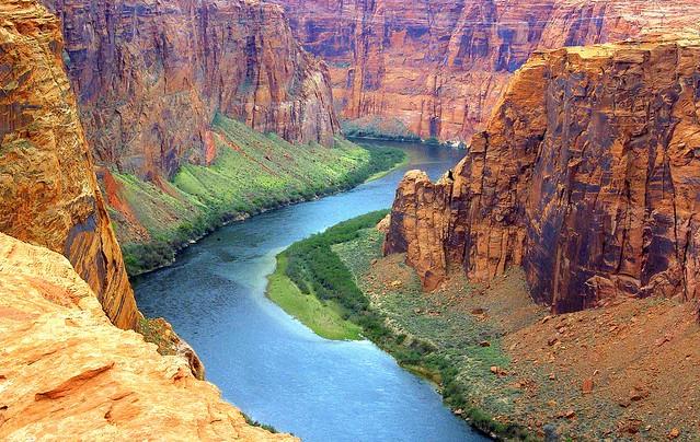 Colorado River Desktop Background