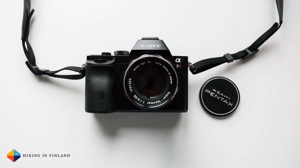Sony A7R with an M42 Pentax Asahi lens