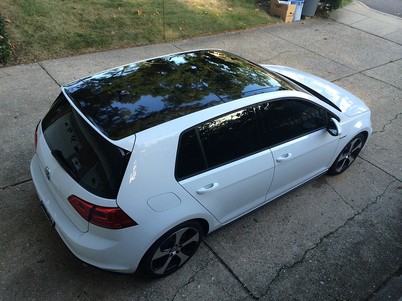 Vinyl Wrapping The Roof Golfmk7 Vw Gti Mkvii Forum