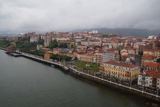 406 Uitzicht vanaf top Puente de Vizcaya