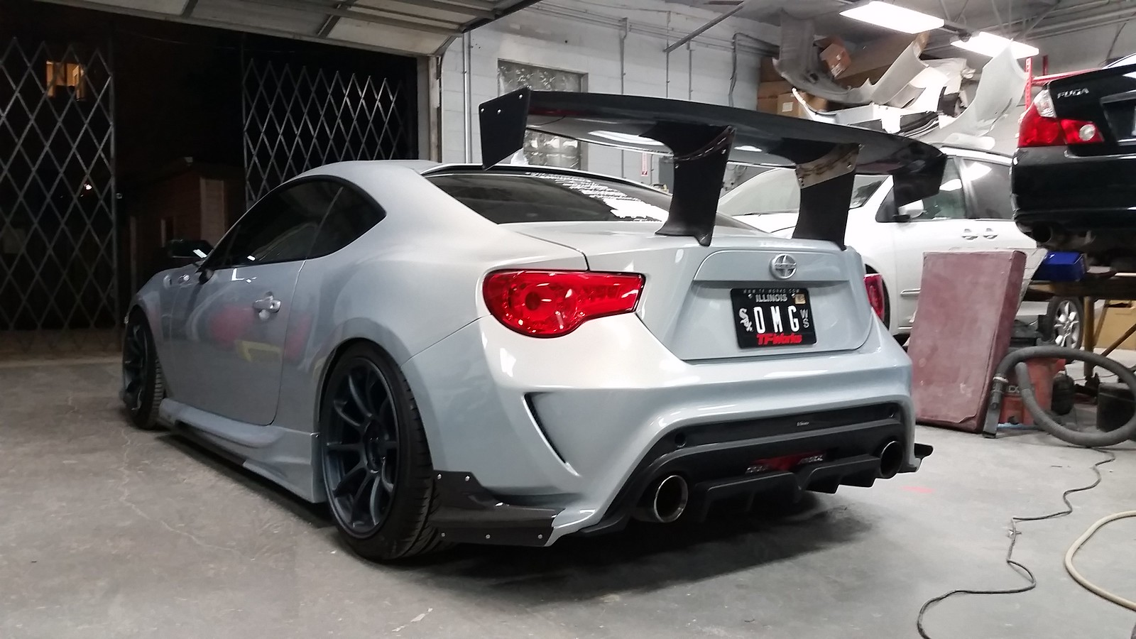 Subaru Wing Scion Frs Duraflex X To Hell With