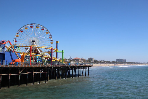 Santa Monica Pier in California