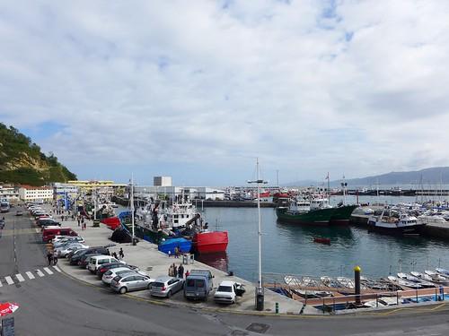Getaria port