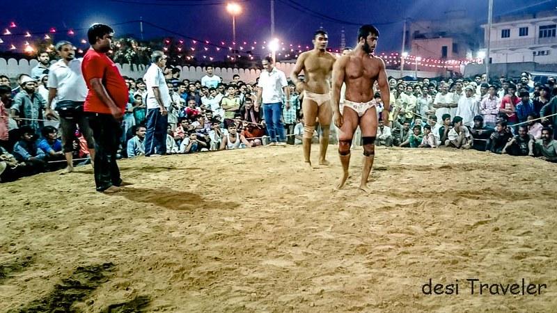 Kushti wrestlers mehrauli phool walon kee sair